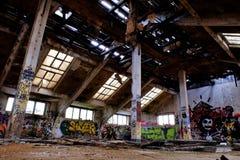 фабрика старая стоковое фото