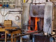 Фабрика стекла Венеции Стоковые Изображения RF