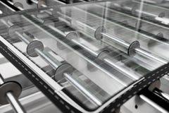 Фабрика стекла автомобиля Стоковое Изображение RF