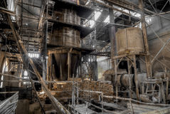 фабрика стиля ½ ¿ ï olonial для меля известняка Стоковая Фотография RF