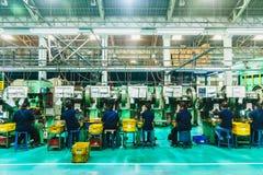 Фабрика с машинами Стоковое Изображение RF