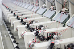 Фабрика тканья стоковое фото