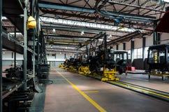 Фабрика трактора Стоковая Фотография RF