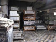 Фабрика фарфора Стоковое Фото