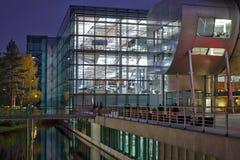 Фабрика Фольксвагена прозрачная Стоковое Изображение