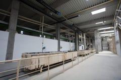 фабрика цемента Стоковые Фотографии RF