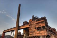 Фабрика для изготовлять чугуна, Остравы, чехии Стоковое фото RF