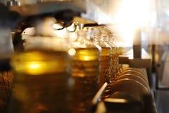 Фабрика для продукции подсолнечного масла Стоковые Изображения