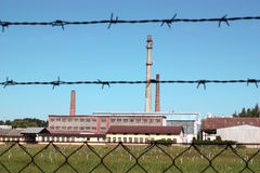 фабрика стоковая фотография rf