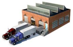 фабрика бесплатная иллюстрация