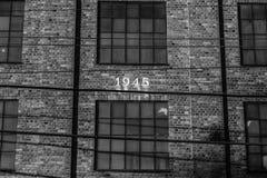 фабрика 1945 buildning Стоковое Изображение