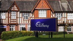 Фабрика Cadbury в Бирмингеме, Англии Стоковая Фотография