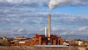 фабрика helsinki стоковое фото rf
