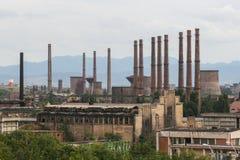 Фабрика Hunedoara стальная стоковое изображение