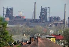 фабрика ostrava Стоковое фото RF