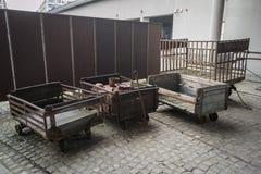 Фабрика Schindler в Кракове стоковое изображение rf