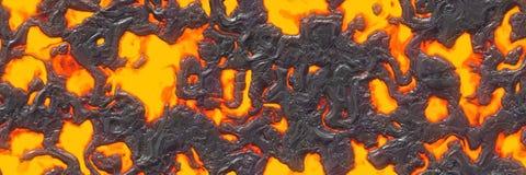 Файл безшовной магмы большой Разрушьте жидкий жидкий металл стоковое фото rf