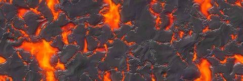 Файл безшовной магмы большой Разрушьте жидкий жидкий металл стоковые фотографии rf