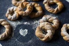 Файлы Cookies Roscas Стоковое Изображение RF