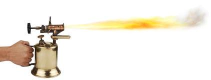 факел дуновения Стоковая Фотография