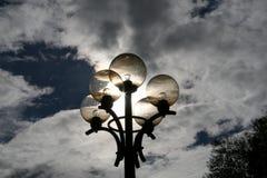 факел солнца Стоковые Изображения