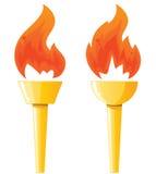 Факел иллюстрация штока