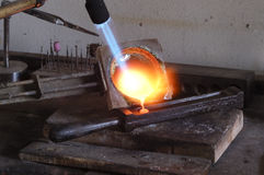 факел Стоковая Фотография RF