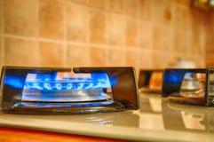 Факел газа кухни Стоковая Фотография