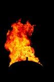 Факел огня Стоковое Изображение
