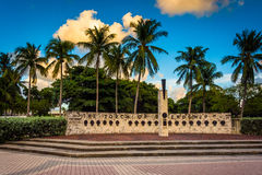 Факел приятельства в городском Майами, Флориде Стоковое фото RF