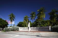 Факел фото запаса приятельства Майами Стоковые Изображения RF