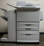 Факс скеннирования офиса копируя стоковое изображение rf