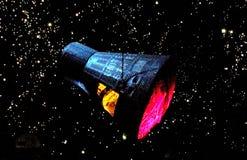 ФАКТИЧЕСКАЯ КОСМИЧЕСКАЯ КАПСУЛА ДЖЕМИНИ ПРОЕКТА NASA Стоковые Фото