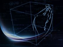 Фактически геометрия Стоковая Фотография