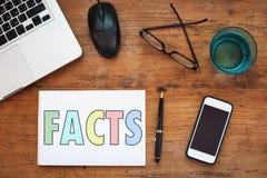 факты стоковое фото rf