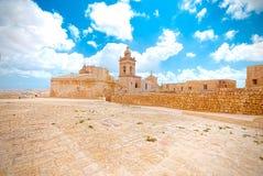 Фальшборт Виктории, Инфракрасн-Рабат Gozo, Мальта стоковые изображения