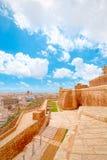 Фальшборт Виктории, Инфракрасн-Рабат, Gozo, Мальта стоковые изображения