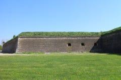 Фальшборт крепости Komarno стоковое изображение
