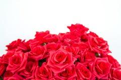 Фальшивка красной розы стоковая фотография rf