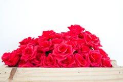 Фальшивка красной розы стоковые изображения rf