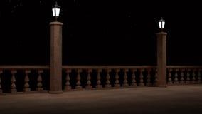 Фантазия балкона Стоковое Изображение RF