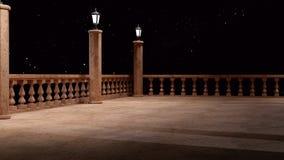 Фантазия балкона Стоковые Фотографии RF