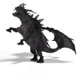фантазия дракона большая Стоковая Фотография RF