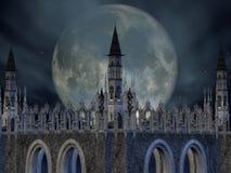 фантазия замока иллюстрация вектора