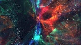 Фантазия космоса галактики межзвёздного облака иллюстрация вектора