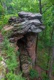 Фантазия природы на входе к саду богов, Иллинойсу Стоковое Фото