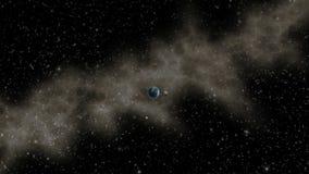 Фантазия с космическим кораблем чужеземца сток-видео