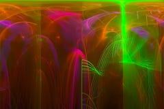 Фантазия, фракталь, картина красочная, предпосылка верхнего слоя текстуры фейерверка зарева современная, энергия templaterenderin бесплатная иллюстрация