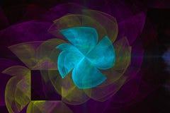 Фантазия, фракталь, красочное картины верхнего слоя текстуры живое, предпосылка фейерверка зарева современная, энергия templatere иллюстрация вектора