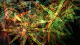 Фантазия цветков абстрактная бесплатная иллюстрация